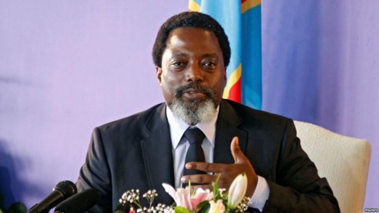 Joseph Kabila au parlement