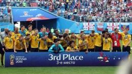 La Belgique finit à la troisième place