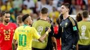 Le Brésil éliminé par la Belgique