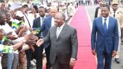 Le président Ali Bongo au Togo