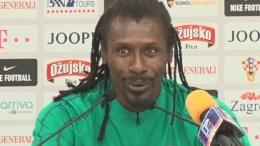 Aliou Cissé parle