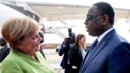 Angela Merkel au Sénégal