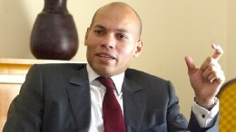 Karim Wade à Doha