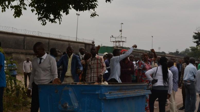 les enseignants en colère à Brazzaville