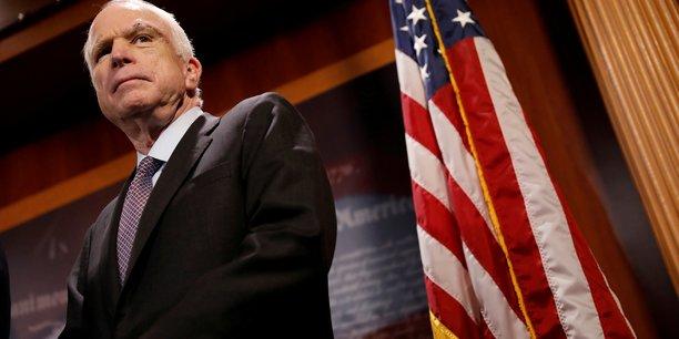le senateur americain John Mc Cain