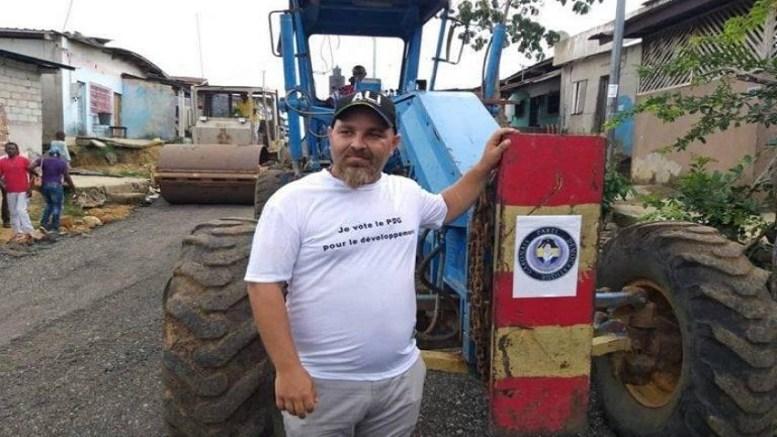 Chadi Moukarim sur le terrain