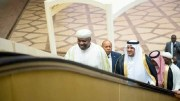 Le président Ali Bongo Ondimba en Arabie Saoudite