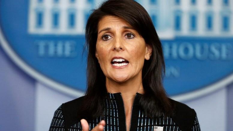 L'ambassadrice américaine à l'ONU démissionne