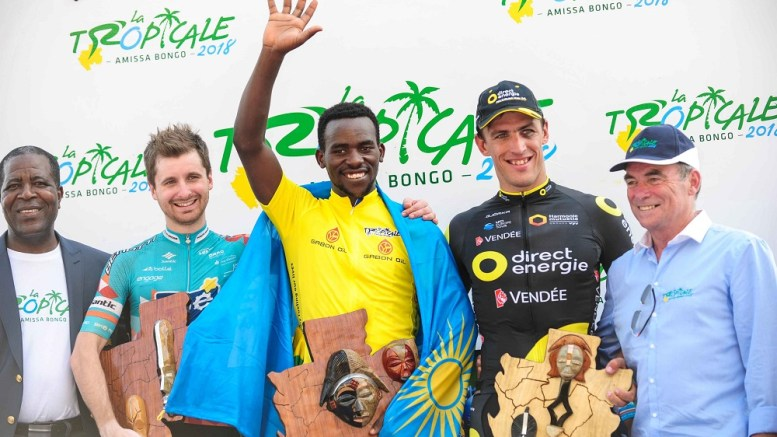 Le cycliste rwandais Joseph Areruya