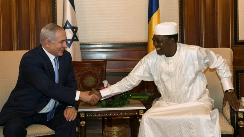 Benyamin Netanyahou au Tchad