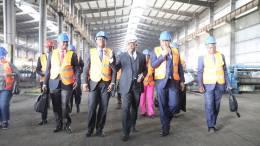 Daniel Ona Ondo à Nkok