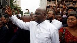 Felix Tshisekedi, élu président