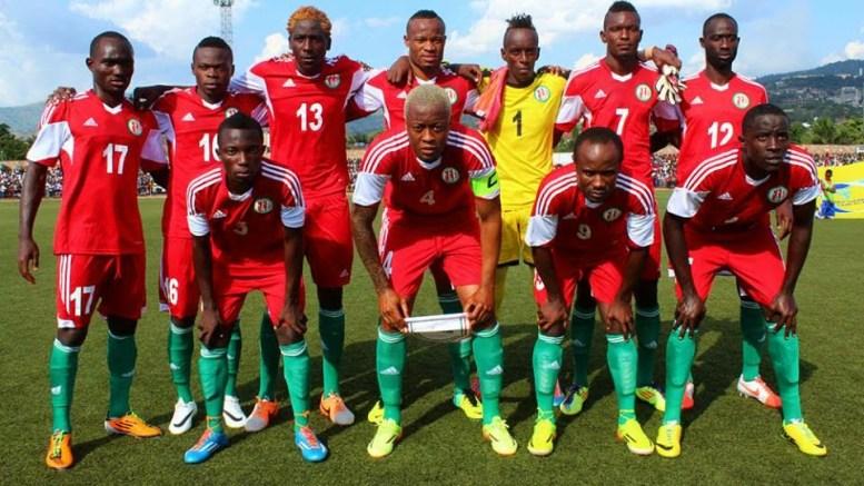 L'équipe nationale du Burundi