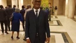 Tony Ondo Mba à l'assemblée nationale