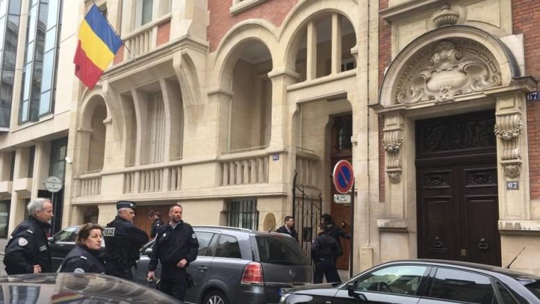 Ambassade du tchad en France