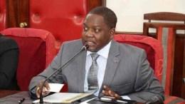 Firmin Ngrebada, le Premier ministre de la Centrafrique