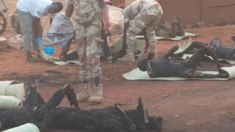 Explosion à Niamey