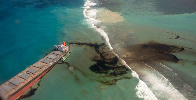 Maurice: L'île sous la menace d'une marée noire