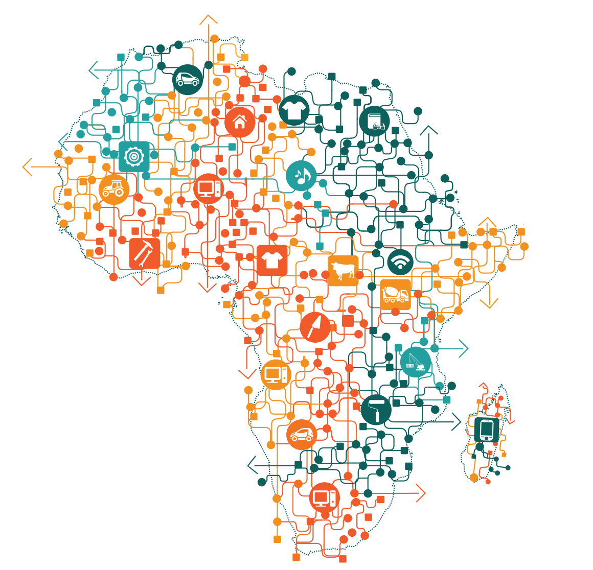 On Africa's Fragmented Markets: Innovators Can Win By Developing Platforms