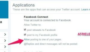 How To Connect Twitter To Facebook Fan Page