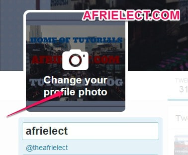 how to change profile picture in twitter mobile