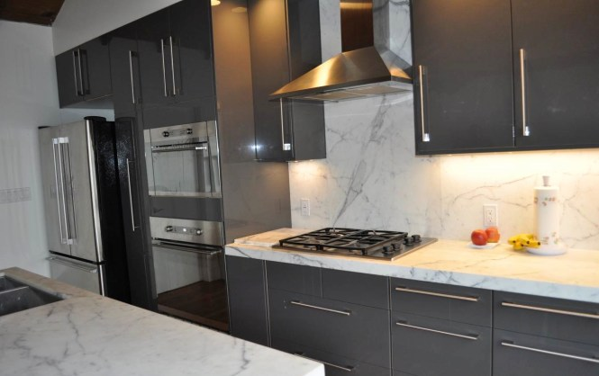Gray Kitchen Cabinets With Black Appliances 100+ ideas grey kitchen black appliances on kecinhomedesign