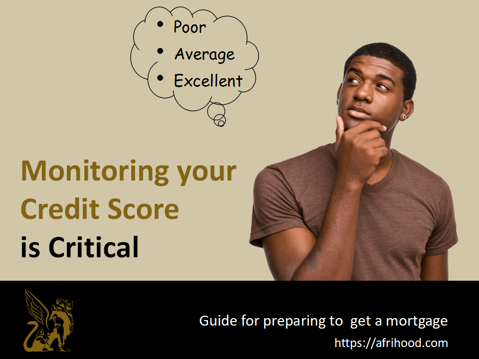 Monitoring Your Credit Score Is Critical While Preparing To Get A Mortgage