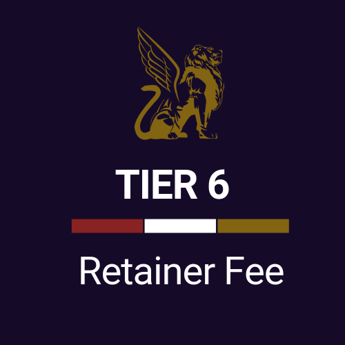 Retainer Fee Tier 6