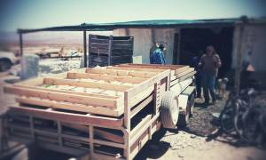 1 Ton wood donated by Branden Smithers from the Upsetters to Padstaal Community Center