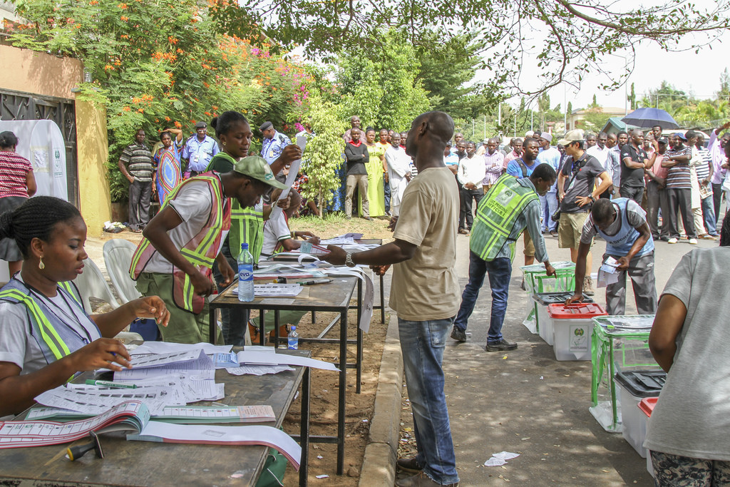 Voting in Nigeria elections