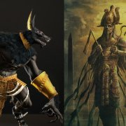 Sumerian Anunnaki Gods of Egypt Osiris and Set first pyramid War