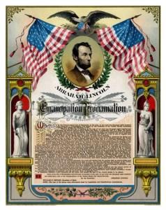 Emancipation black civil war soldiers