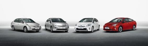 Historique et Evolution de la Toyota Prius 8