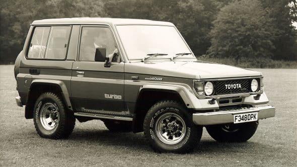 Evolution de la Toyota Land Cruiser (Modèles lourds et légers) 5