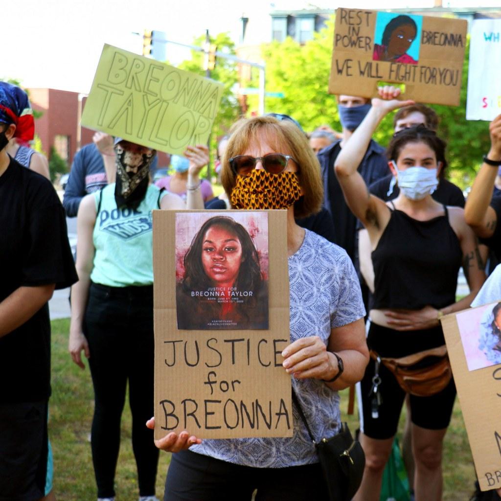 Breonna taylor meurtre manifestation