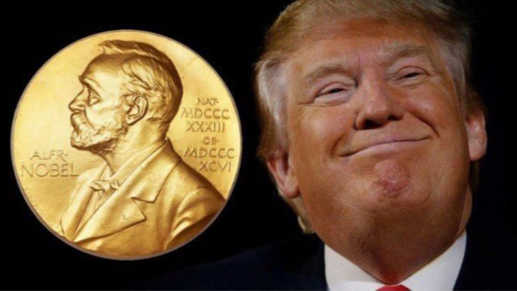 Donald Trump Prix Nobel