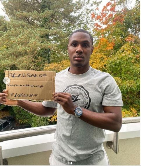 Odion Ighalo #EndSARS