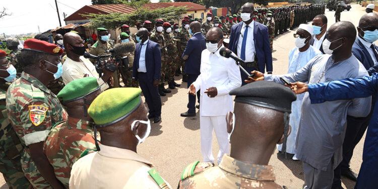 Guinée : Alpha Condé ne veut recevoir aucun ordre des pays étrangers
