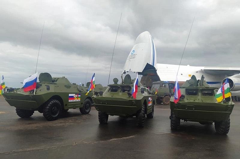 Russie Centrafrique arme
