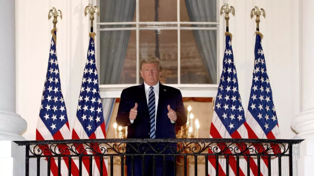 Donald Trump Maison Blanche