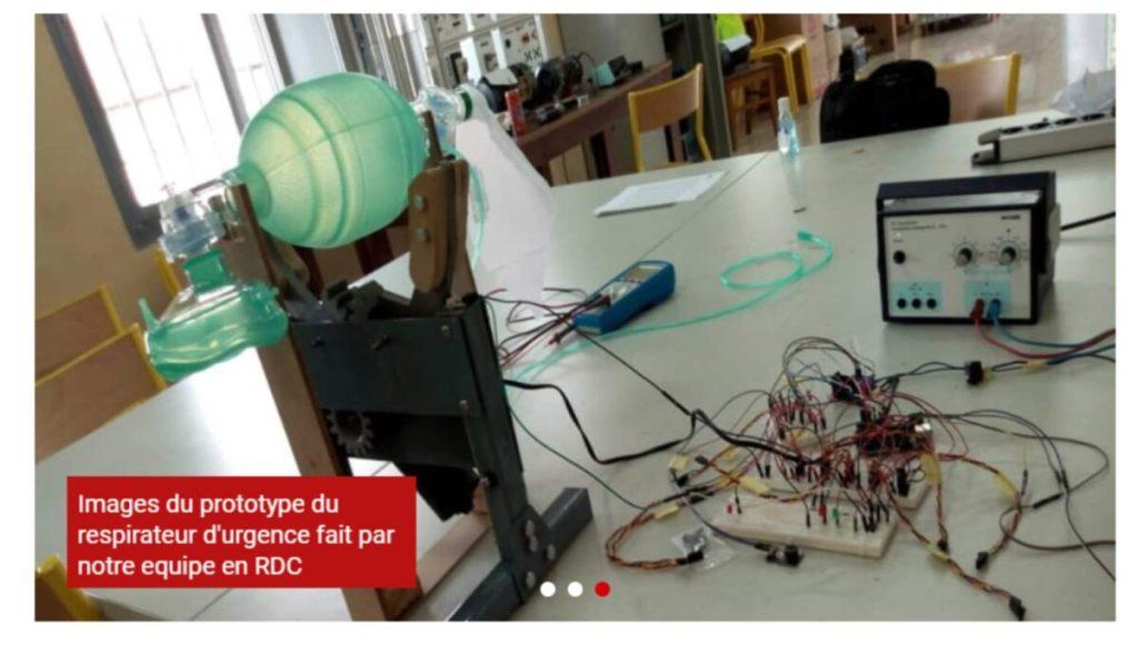 prototype de respirateurs