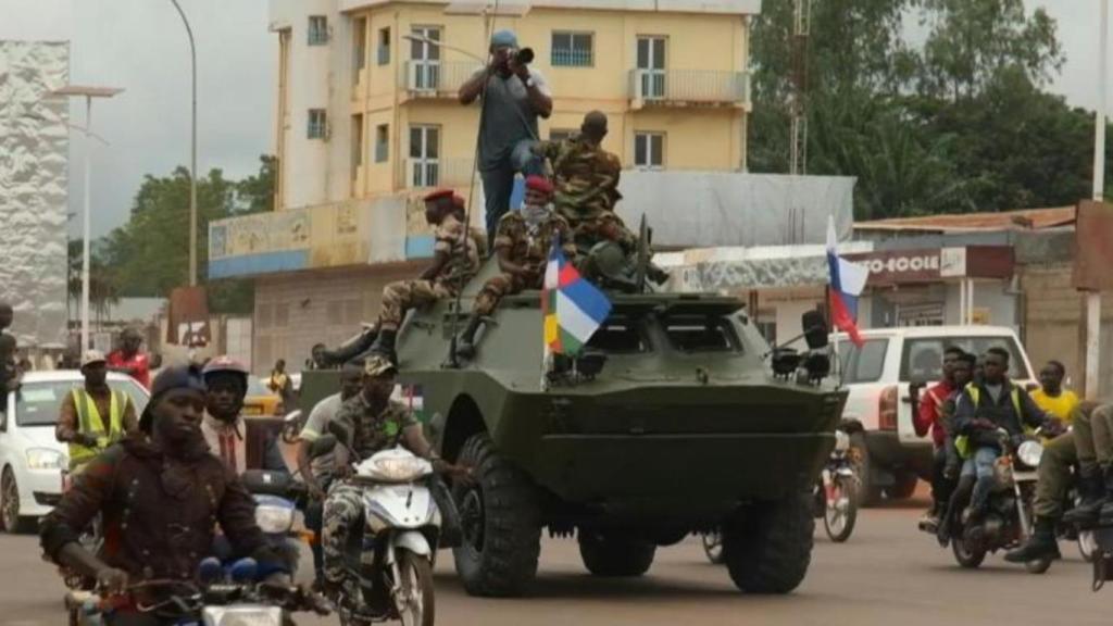 Centrafrique Russie
