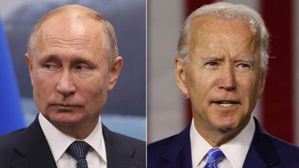 Joe Biden Vladimir Poutine Etats-Unis Russie