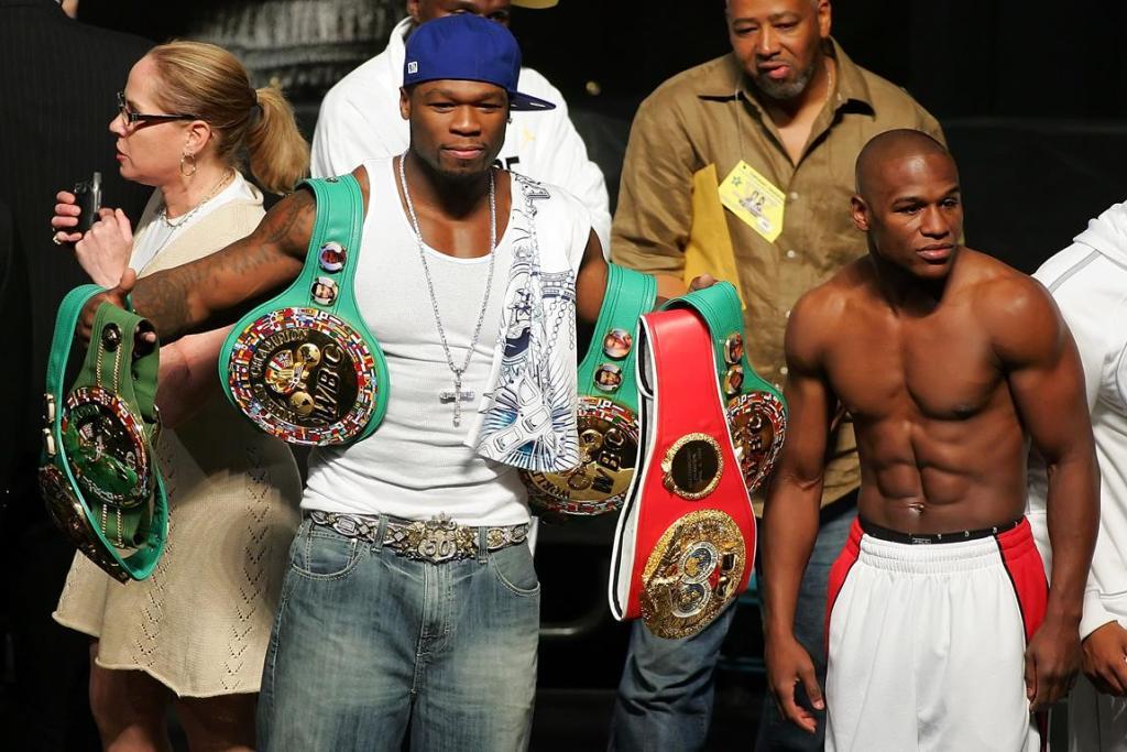 50 Cent combat Floyd Mayweather