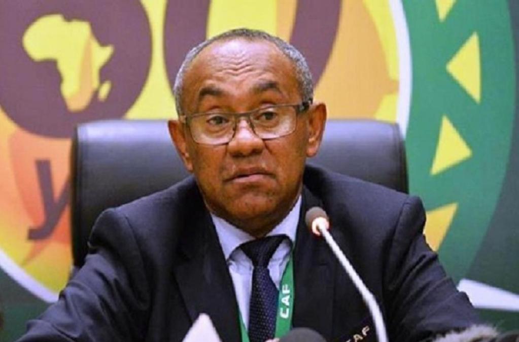 président de la CAF Ahmad Ahmad retour triomphal