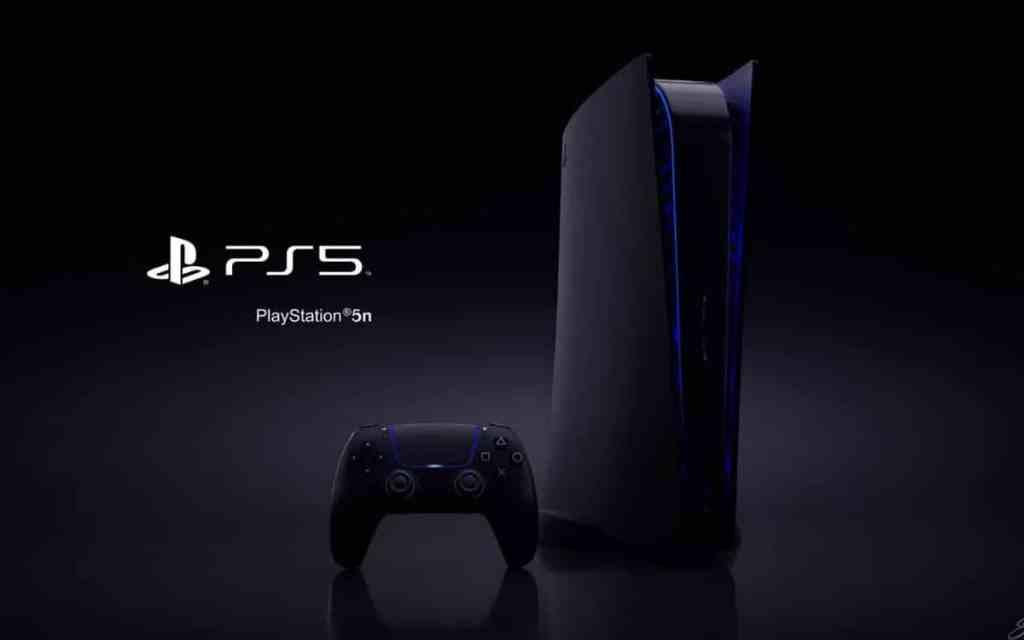 PS5 noires