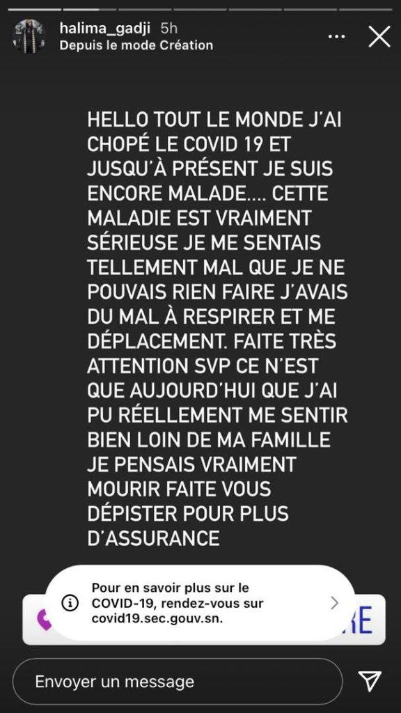 Marieme Dial covid-19