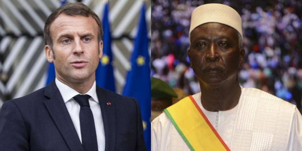 Emmanuel Macron Bah N'Daw Elysée