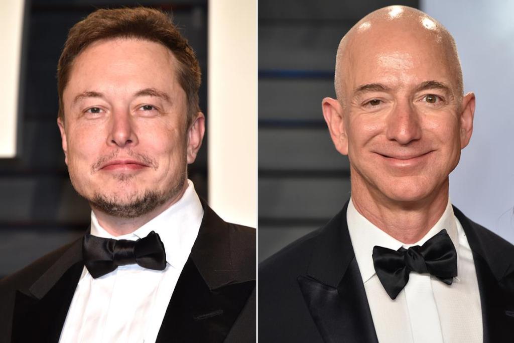 Elon Musk Jeff Bezos détrôné