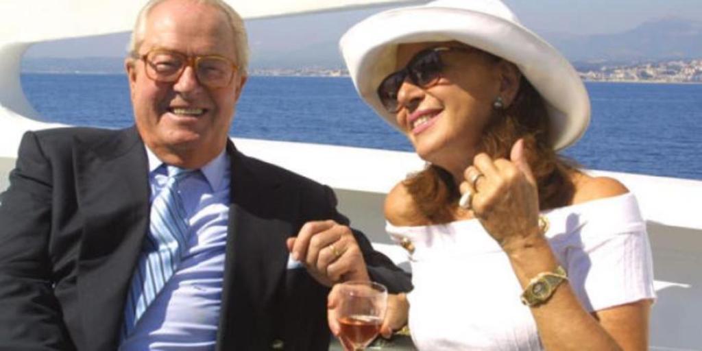 Jean-Marie Le Pen mariage Jany
